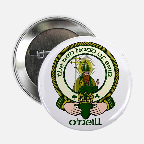 "O'Neill Clan Motto 2.25"" Buttons (10 pack)"