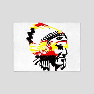 Chief tri color 5'x7'Area Rug