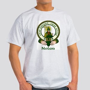 Nolan Clan Motto Light T-Shirt