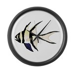 Banggai cardinalfish Large Wall Clock