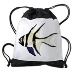 Banggai cardinalfish Drawstring Bag