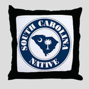 SC Native (Round) Throw Pillow
