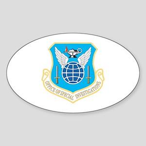 OSI Oval Sticker