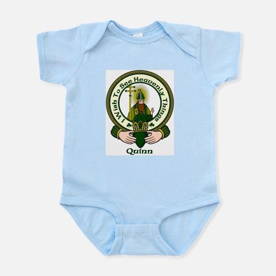 Quinn Clan Motto Infant Creeper