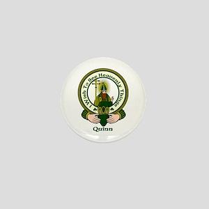 Quinn Clan Motto Mini Button (10 pack)