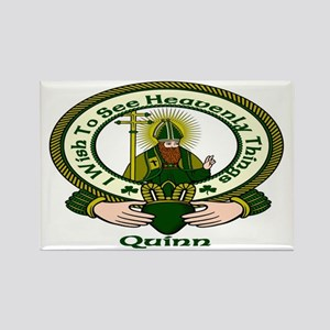 Quinn Clan Motto Rectangle Magnet (10 pack)