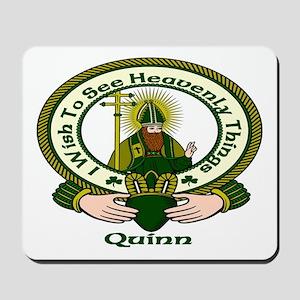 Quinn Clan Motto Mousepad