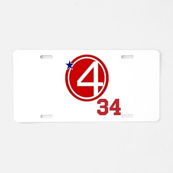 Doc PhantasticPhour Aluminum License Plate