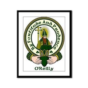 Reilly Clan Motto Framed Print