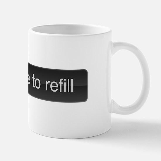 SLIDE TO REFILL Coffe mug