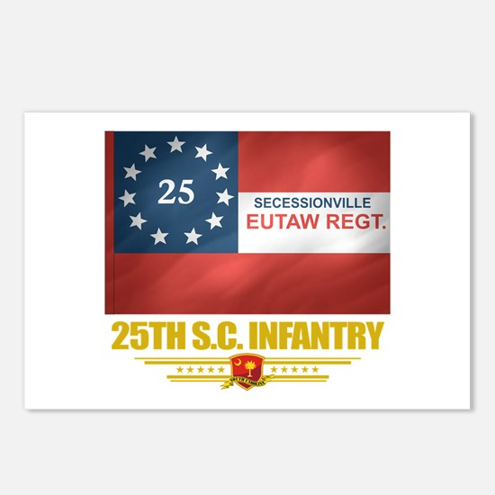 25th SC Infantry Postcards (Package of 8)
