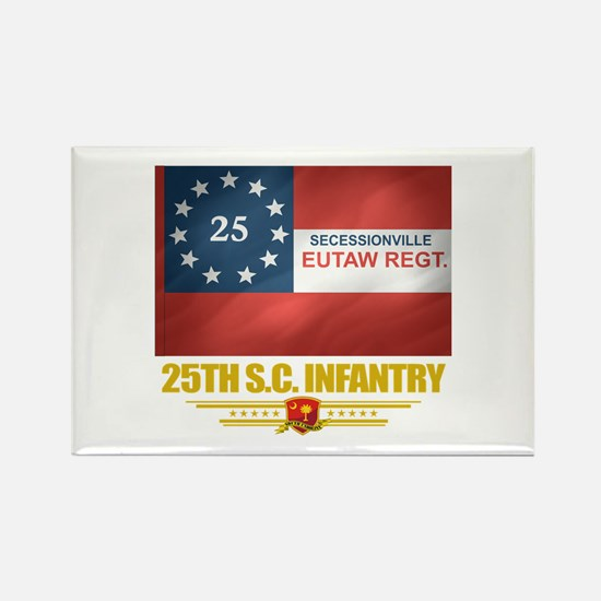 25th SC Infantry Rectangle Magnet