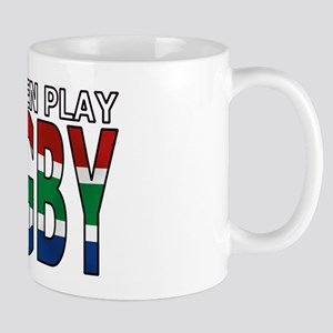 Real Men Rugby South Africa Mug