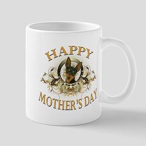 Happy Mother's Day Min Pin Mug