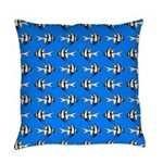 Banggai cardinalfish Everyday Pillow