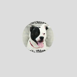 Staffordshire Bull Terrier Mini Button