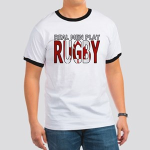 Real Men Rugby Canada Ringer T
