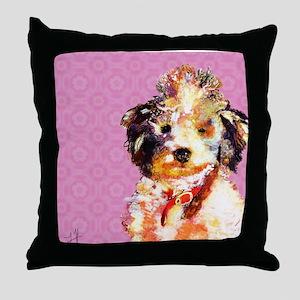 Colt Dog Throw Pillow