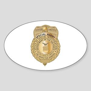 OSI Combo Oval Sticker