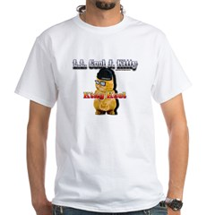 L.L. Cool J. Kitty White T-Shirt