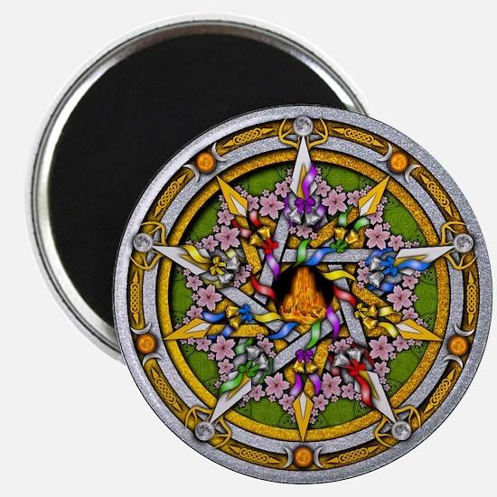 Beltane Pentacle Magnet