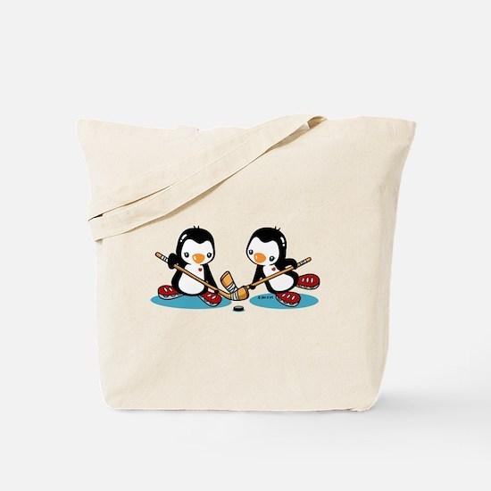 Ice Hockey (T) Tote Bag