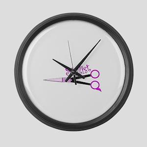 Hair Stylist/Beauticians Large Wall Clock