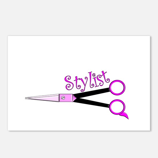 Hair Stylist/Beauticians Postcards (Package of 8)