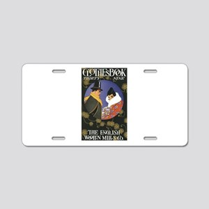 Vintage Collection Two Aluminum License Plate