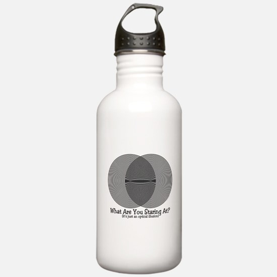 Funny Illusion 2 Water Bottle