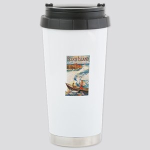 Vintage Collection 16 Stainless Steel Travel Mug