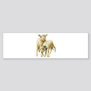 Lamb drawing Bumper Sticker