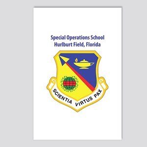 Special Operations School Postcards (Package of 8)