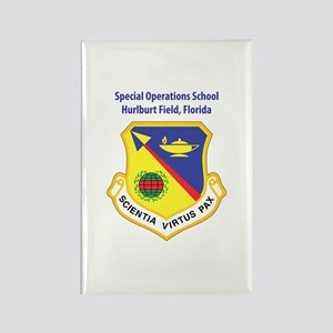 Special Operations School Rectangle Magnet