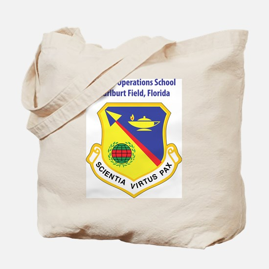 Special Operations School Tote Bag