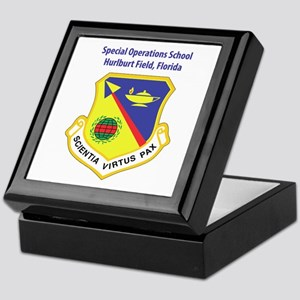 Special Operations School Keepsake Box