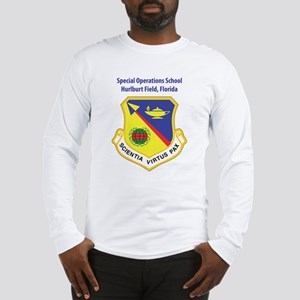 Special Operations School Long Sleeve T-Shirt