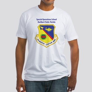 Special Operations School Fitted T-Shirt