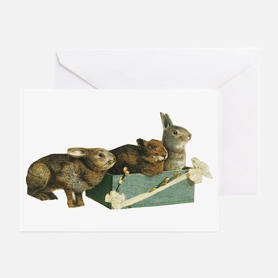 Three Bunnys Greeting Cards (Pk of 10)
