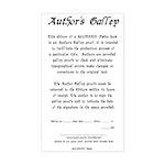SFUMATO Books Galley Rectangle Sticker