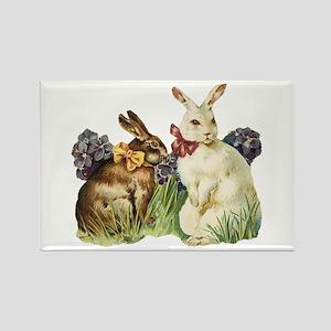 Easter Bunnys Rectangle Magnet