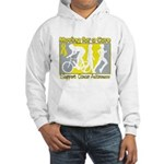 Bladder Cancer Moving Cure Hooded Sweatshirt