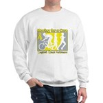 Bladder Cancer Moving Cure Sweatshirt