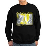 Bladder Cancer Moving Cure Sweatshirt (dark)