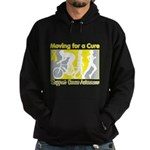Bladder Cancer Moving Cure Hoodie (dark)