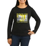 Bladder Cancer Moving Cure Women's Long Sleeve Dar