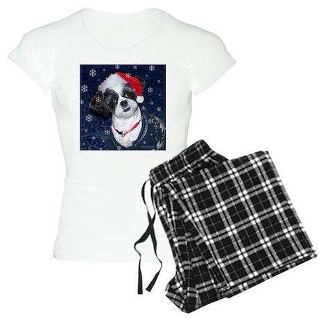 Shih Tzu Santa Women's Light Pajamas