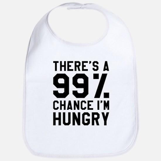 I'm Hungry Baby Bib