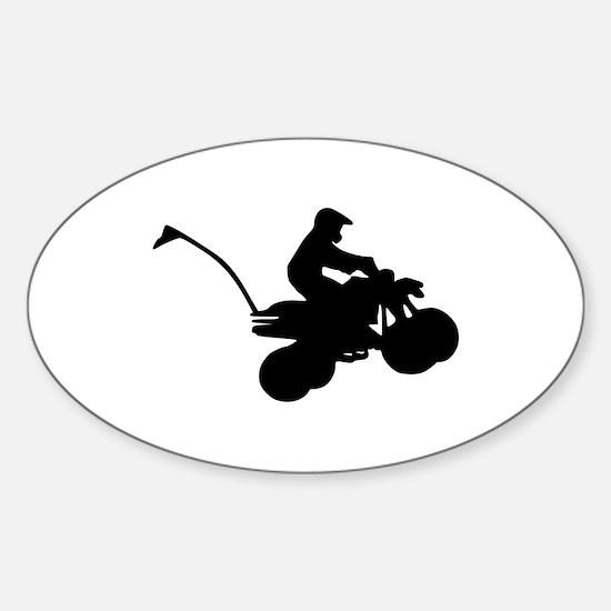 ATV Sticker (Oval)