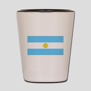Argentina Blank Flag Shot Glass